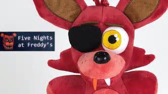 Foxy plush from five nights at freddy s and fnaf t shirts youtube