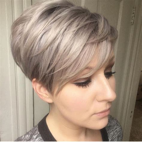 best short ash blonde hair style for older ladies 10 trendy layered short haircut ideas for 2017 2018