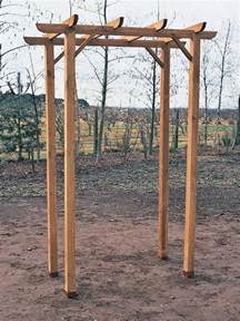 how to build a freestanding wooden pergola kit crab