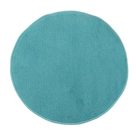 Petit Tapis Rond Pas Cher petit tapis rond pas cher bleu diamtre 70cm monbeautapis 224