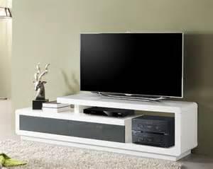 meuble tv blanc meubles fran 231 ais