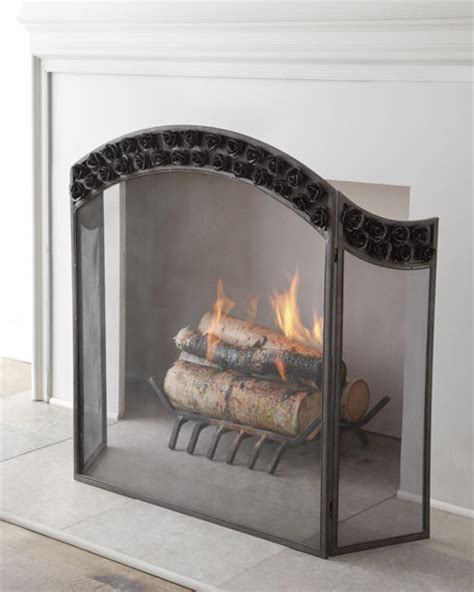 Arched Fireplace Screens by Quot Arched Quot Fireplace Screen