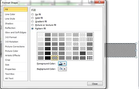 excel 2007 black and white pattern fills excel vba chart fill pattern working with charts