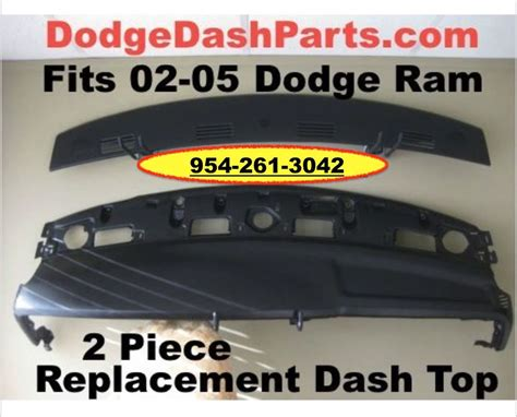 dodge ram 1500 dashboard replacement dodge ram 2p replacement dash top fits 2002 1500 03 05