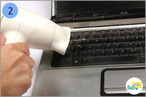 Hair Dryer To Clean Pc how to safely clean your laptop keyboard fab how