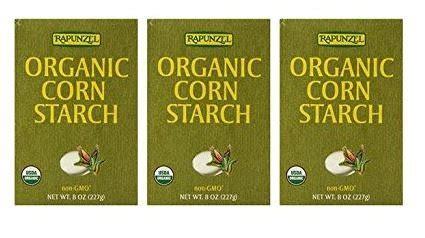 Rapunzel Organic Corn Starch 8 Oz sodium bicarbonate process usp no