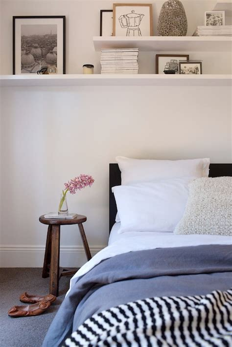 Bedroom Shelf Decor by Adore Magazine Bedrooms Shelves Bed Decorating
