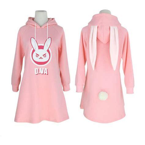 Sweater Overwatch Salsabila Cloth overwatch d va dva bunny autumn and winter sweater dress sd01019 kawaii