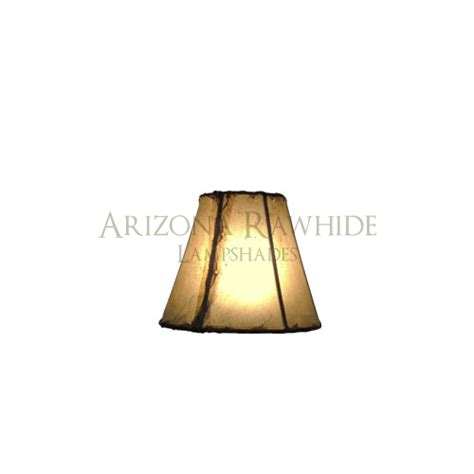 Rawhide Chandelier L Shades by Chandelier Sm Rawhide Shade 4 Quot H X 5 Quot W 2 5 Quot W Top