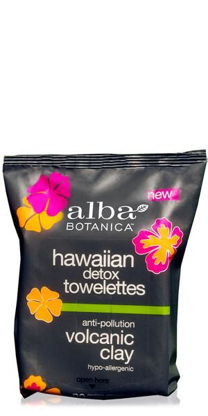 Volcanic Detox by Clay Volcanic Wipes Hawaiian Detox In 30pack From Alba
