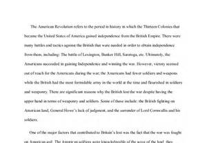 American Revolutionary War Essay by Why The Lost The Revolutionary War International Baccalaureate History Marked By
