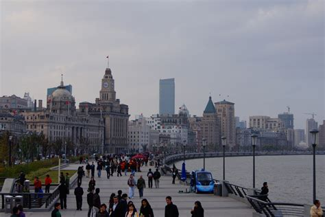 Trading Spaces by Waterfront Development In Shanghai The Bund The Global Grid