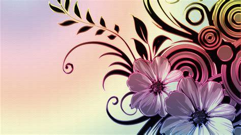 wallpaper flower draw simple flower drawings wallpaper