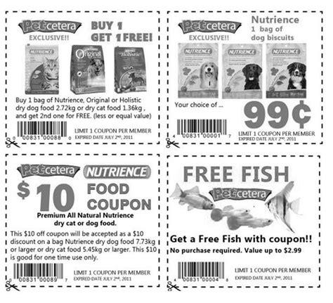 printable pet food coupons canada petcetera canada july 2nd coupons free fish savings on