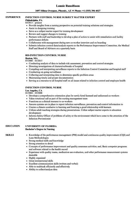 infection resume sles velvet