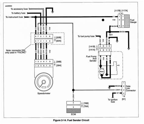 harley fuel wiring harness diagram get free image