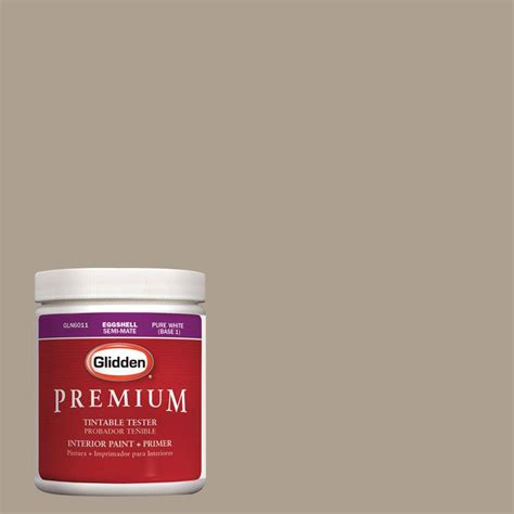 glidden premium 8 oz hdgwn25 neutral wheat interior paint tester hdgwn25 08p the home