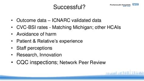 What Makes A Icu by What Makes A Successful Icu Knighton