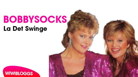 la det swinge eurovision s greatest hits bobbysocks la det swinge
