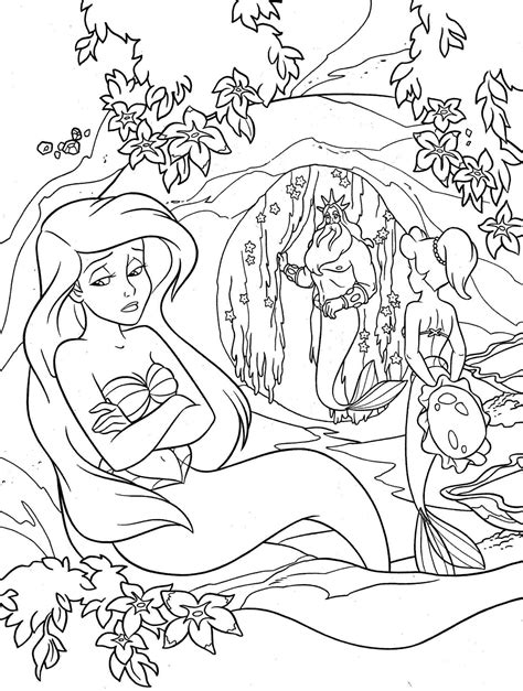 my little mermaid coloring pages ariel coloring page new the little mermaid coloring page
