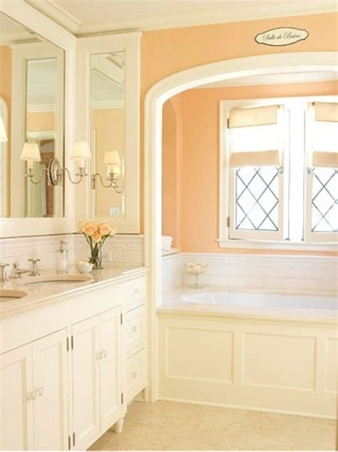 peach bathroom ideas best 25 peach bathroom ideas on pinterest
