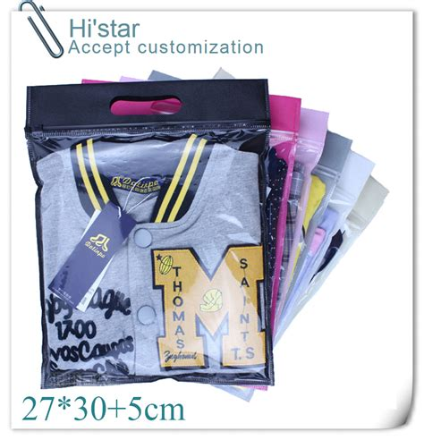 27 30 5cm 20 pieces zip lock for clothes self sealing