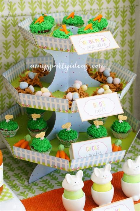 Or Ideas Hoppy Easter Dessert Table S Ideas