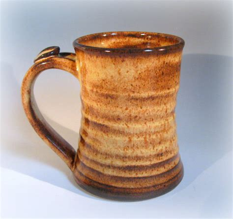 large coffee mug ceramic mug handmade pottery