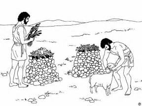 cain and abel coloring pages free kain and abel coloring pages