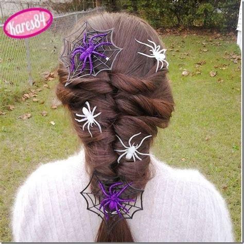 halloween hairstyles spider 148 best halloween hairstyles images on pinterest