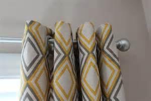 Curtains pair of designer custom curtain panels 50 x108 yellow