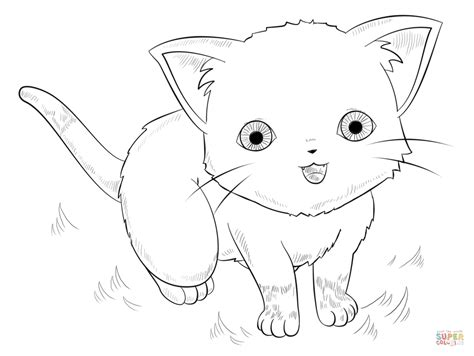 cute anime animals coloring pages az coloring pages