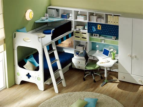 Boy Bunk Beds With Desk Bunk Bed Like Boy With Corner Study Desk Interior Design Ideas