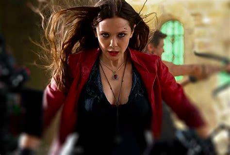 captain america actress wallpaper scarlet witch loves getting naked says elizabeth olsen