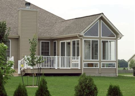 Cost Of Sunroom In Canada Three Season Room With Deck In Il Yelp