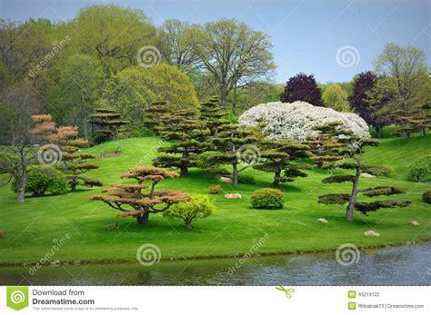Japanese Garden Stock Photo Image 45219122 Botanical Gardens Glencoe