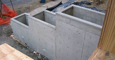 Concrete Block Planter Box by Concrete Planter Boxes Retaining Wall Idea House