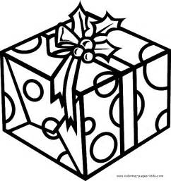 christmas present color christmas coloring pages holiday amp seasonal coloring pages