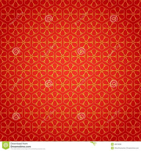 new year background pattern national chinese seamless pattern with flowers stock