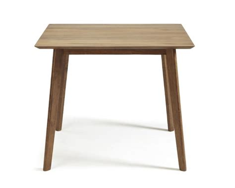 serene westminster small size walnut dining table by