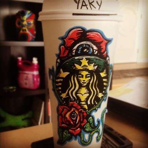 starbuck tattoo starbucks coffee makes everything better
