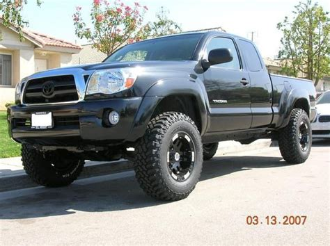 toyota tacoma blacked out blacked out 2005 toyota tacoma xtra cab specs photos