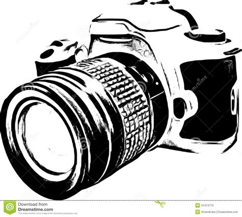 digital black and white clip pictures of nikon cameras clipart