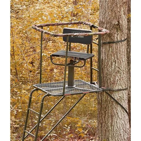 sniper swivel top ladder stand 637203 ladder tree