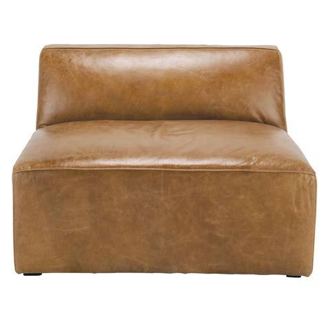 canape chauffeuse chauffeuse de canap 233 cuir vintage marron jefferson