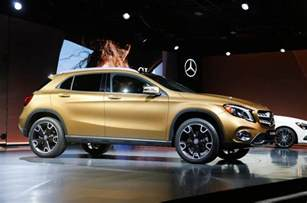 when are new cars released 2017 mercedes gla facelift prices and specs released