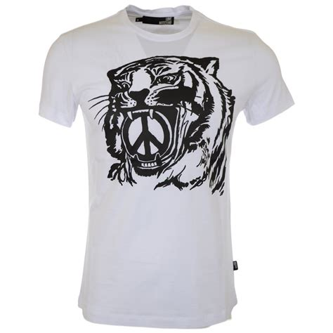 tiger print t shirt moschino tiger print white t shirt moschino from n22