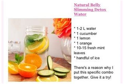 Belly Slimming Detox Water Benefits by Belly Slimming Detox Water Drinks