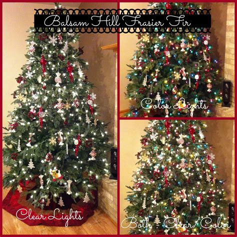 color vs clear the great christmas tree light debate