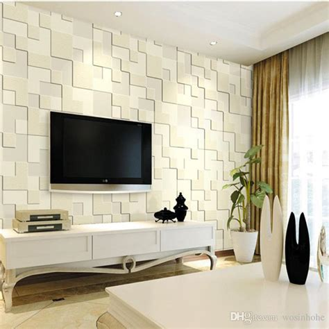 Wholesale Home Decore by Beibehang Modern Home Decor 3d Wallpaper Bedroom Living